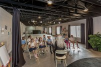 The-Christian-Academy-At-Bradenton,-Class-in-the-Theater