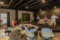 The-Christian-Academy-At-Bradenton,-Music-Class-in-Theater,-Kids-on-Stage