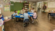 The-Christian-Academy-At-Bradenton,--Younger-Students-in-Classroom,-Closer